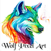 Wolf Pixel Art