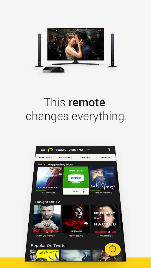 Peel Universal Remote TV Guide- screenshot