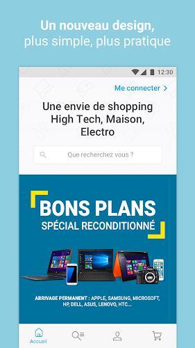 Rue du Commerce Android App Screenshot