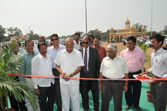 Photo: Sr. BJP Leader, Social Worker & Industrialist Shree. Banwari Lal Purohit Inaugurate IndiaMart Ind Expo-2