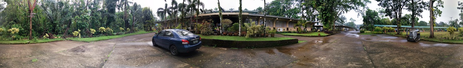 Photo: Good morning Indang Cavite! This was a panorama in front of Hostel Tropicana.
