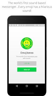 Emojitones Messenger- screenshot thumbnail