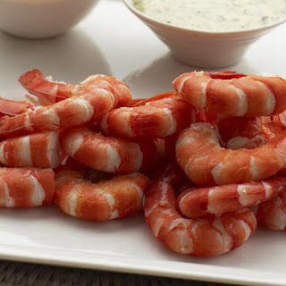 Shrimp with 2 Dipping Sauces