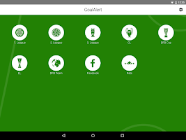 Screenshot of GoalAlert Football Live Scores