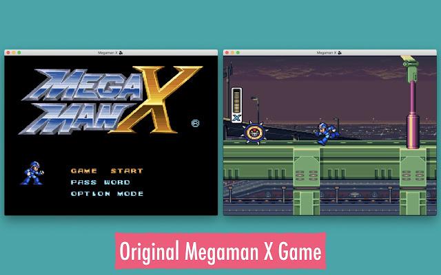 Megaman X - Super Nintendo Simulator