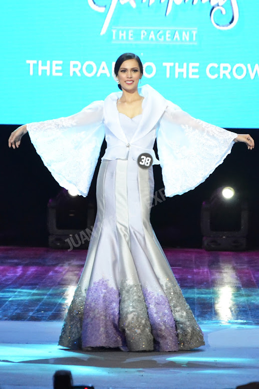 BB. PILIPINAS 2016 CANDIDATE NO. 38 ANGELICA ALITA DRESSED BY BESSIE BESANA FOR THE NATIONAL COSTUME COMPETITION