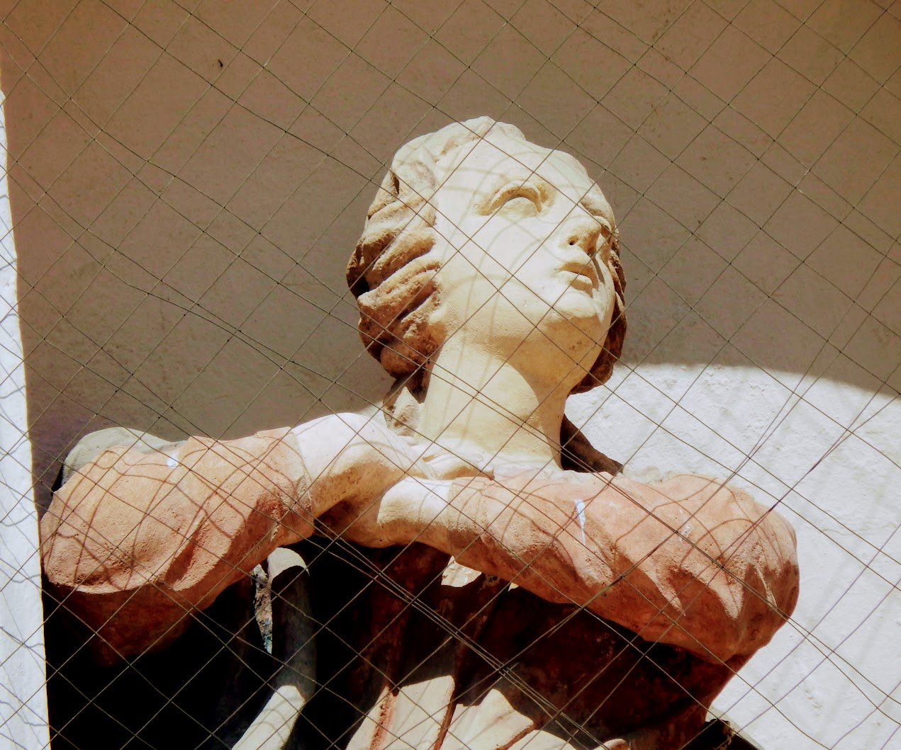 Győr - Király-ház épületszobra (Mária-szobor)