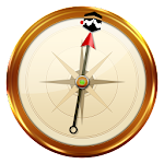 Qibla with Azan - Find Direction, Prayer Times Icon