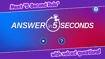 5 Second Rule (voiced)
