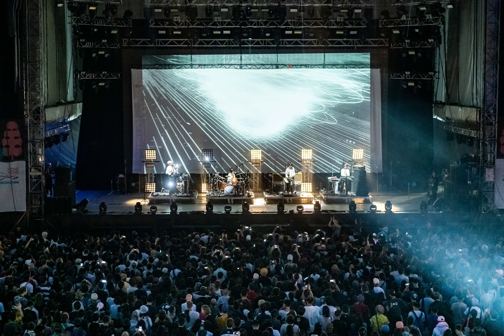 精通多種樂器的日本鬼才CORNELIUS震撼Harbourflap Stage