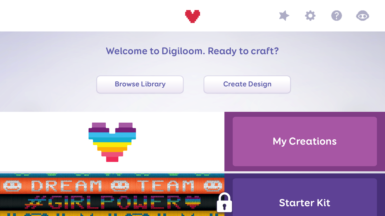 Digiloom- screenshot