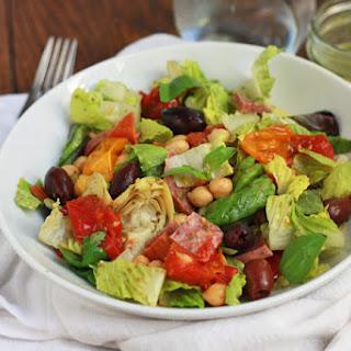 Italia Salad with Lemon Basil Dressing