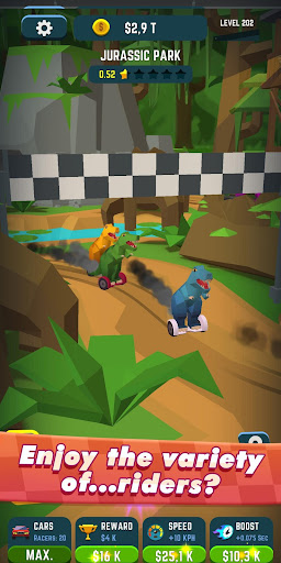 Idle Race Rider u2014 Car tycoon simulator 0.7.1 screenshots 3