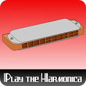 Learn to play the harmonica icon