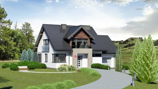 projekt Dom przy Wiosennej 17