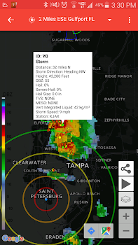 Storm Alert Lightning and Radar