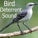 Bird deterrent sound icon