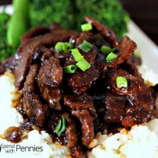 P.F. Chang's Style Mongolian Beef! Easy and Amazing!.