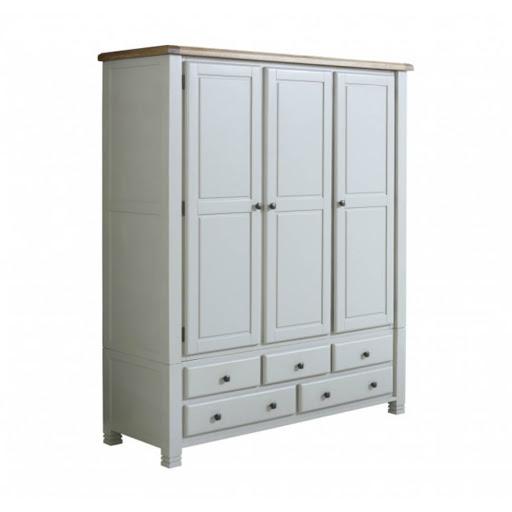 Birlea Woodstock Grey Bedroom Furniture