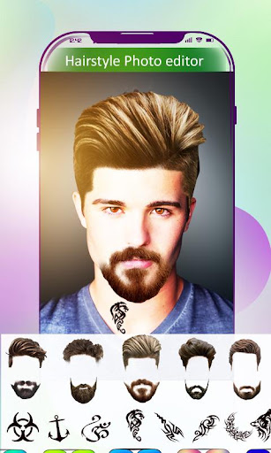 Hair Style Photo Editor screenshot 4