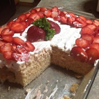 Cook's Country Tres Leches Cake W/Strawberries
