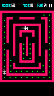 ZX Maze GP - 8-bit F1 racer- screenshot thumbnail
