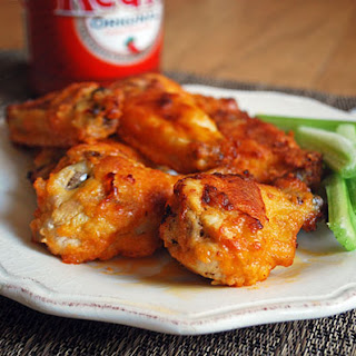Authentic Buffalo Chicken Wings