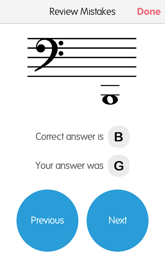 Music Tutor (Sight Reading)- screenshot