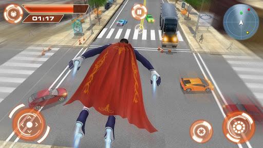 Flying Hero Iron Spider VS Mafia Fighter Adventure 2.3 screenshots 1