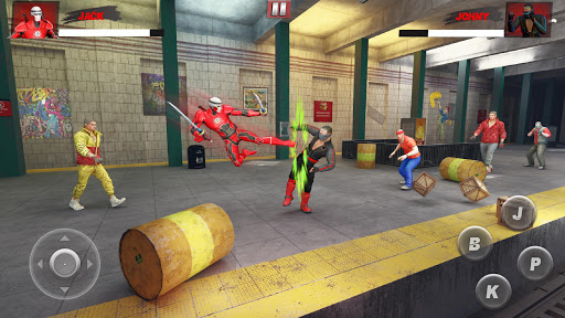 Ninja Superhero Fighting Games: City Kung Fu Fight 5.9 screenshots 1