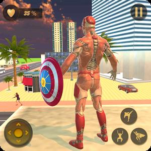 Superhero Captain Robot Flying Newyork City War Online PC (Windows / MAC)