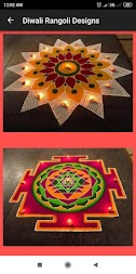 Rangoli Design Dewali 2019 Images Free APK screenshot thumbnail 3