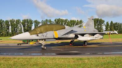 Photo: Węgierski JAS-39 Gripen