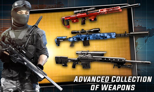 Real Sniper Strike: FPS Sniper Shooting Game 3D android2mod screenshots 5