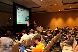 Photo: Ubuntu Developer Summit Precise Pangolin (UDS-P) at The Caribe Royal, Orlando, Florida, USA - 31st October - 4th November 2011 [cc by-sa 2011 Sean Sosik-Hamor] Full high-resolution photos also available at: http://www.pixoulphotography.com/2011/11/23/official-uds-p-group-photo-and-personal-photo-set/