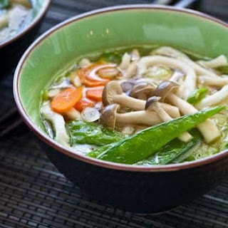 Udon Noodle Soup Recipe with Miso.