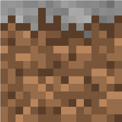 Dirt and grass without the grey pixels !