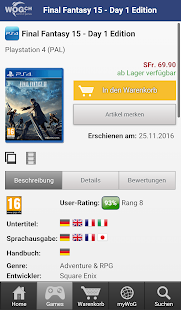 WoG.ch Game Shop- screenshot thumbnail