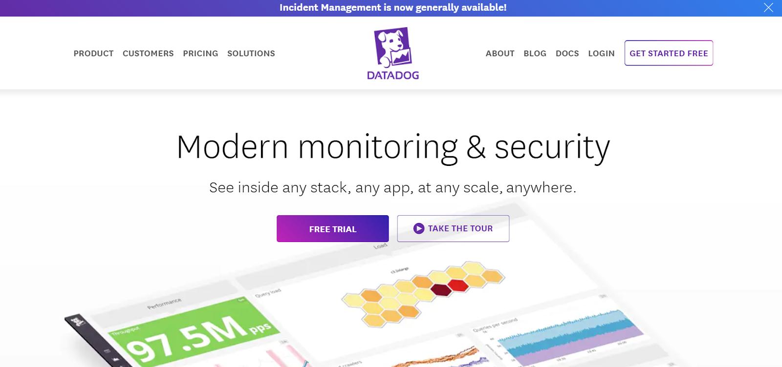 Datadog Network Performance Monitoring Tool