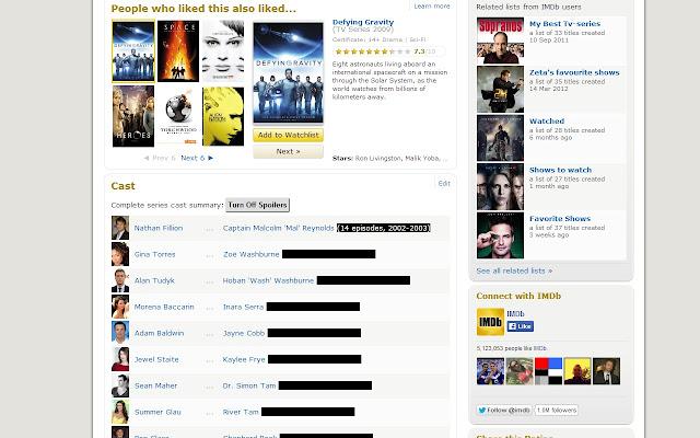 IMDb Hide Episode Spoilers