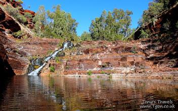 Photo: Fortescue Falls, Karijini National Park, Western Australia