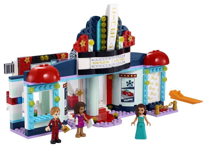 Contenido de Lego® 41448 Cine de Heartlake City