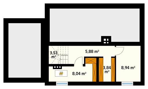 Azalia 5 CE - Rzut piwnicy