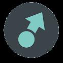 SwipePad Theme: Material icon