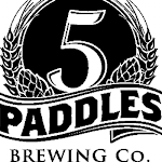 Logo for 5 Paddles Brewing