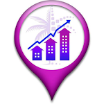 Smart Investment Map Icon