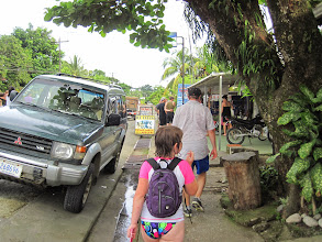 Photo: Walking through Puerto Jimenez - typical small Costa Rican town.