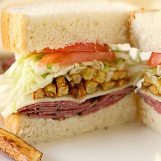Homemade Primanti Bros. Sandwich
