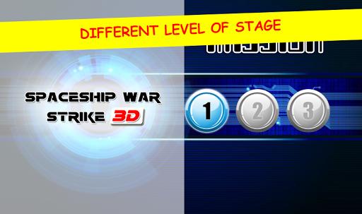 3D Spaceship War Strike