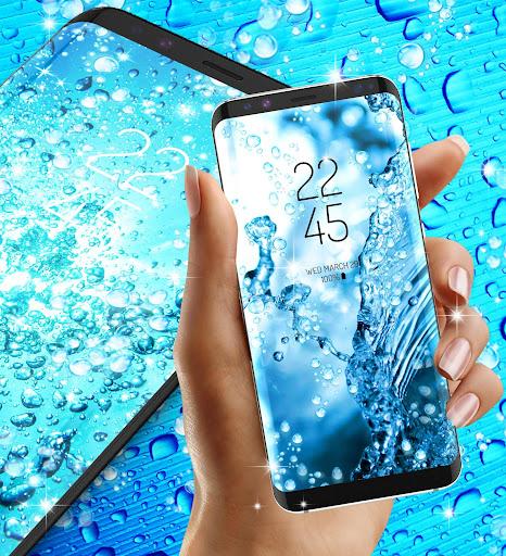 Water drops live wallpaper 8.8 screenshots 3